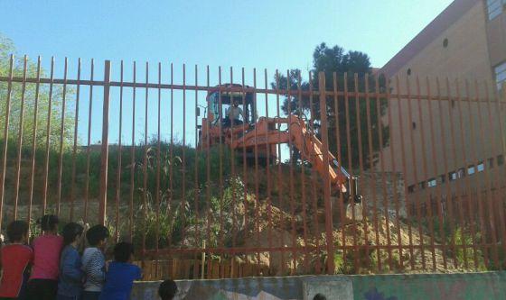 Destrucción del huerto Zuloagal