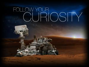 Rover de la misión Curiosity. Imagen de la NASA.