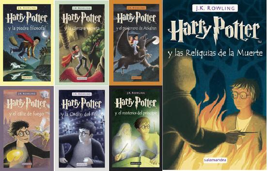 HARRYpotter libros+